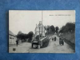 CPA - CARTE POSTALE - MORTAIN - LE CARREFOUR - MTIL - 50 - Autres Communes