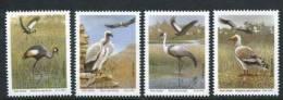 South AFRICA Transkei 1991 Endangered Birds Cranes Bird Animals Eagles Stamps MNH Scott 255-258 SG269-272 Michel 271-274 - Cranes And Other Gruiformes