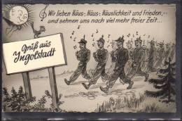 Gruss Aus Ingolstadt - Bundeswehr-Standort  1958 - Ingolstadt