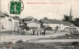 """Carte Postale BETHELAINVILLE Meuse """"La Place Et Le Lavoir """" - Autres Communes"""