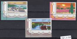 28.8.1997,  Paysages,   Y&T No.  1775 - 1777, Neuf ** , Lot 38469 - BRD