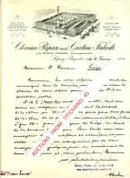 Brief 1904 - LEIPZIG-PLAGWITZ - GUSTAV NAJORK - Chromo-Papier Und Carton-Fabrik - Allemagne