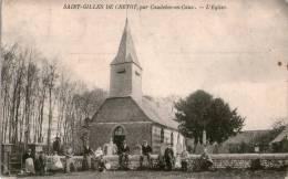 Carte Postale Saint-Gilles DE CRETOT - Autres Communes