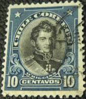 Chile 1911 O Higgins 10c - Used - Chile