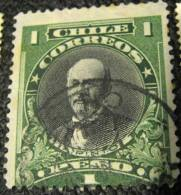 Chile 1911 A Pinto 1p - Used - Chile