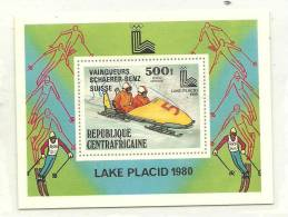 IVERT BF 37** CENTROAFRICANA 1979 - Winter 1980: Lake Placid