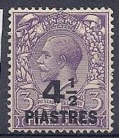 130202685  LEVANTE  G.B.   YVERT    Nº   60  *  MH - Britisch-Levant