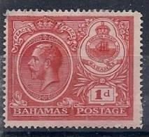 130202695  BAHAMAS  G.B..   YVERT    Nº  71  *  MH - Bahamas (...-1973)