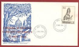 Vaticano 1964 - FDC Capitolium Concilio Vaticano II - FDC