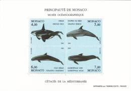 Monaco - Bloc N° 64 - Protection Environnement Marin - Neuf ** - MNH - Blocchi