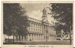 R :nord :  CAMBRAI : L'  Hotel De Ville (  Carte  Carnet ) - Cambrai