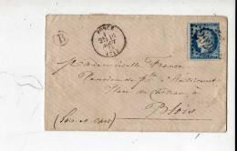Gc 2920  Petite Enveloppe Ponce Cachet B - 1871-1875 Ceres