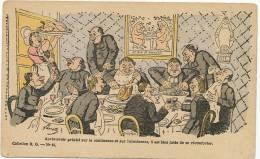 Lavrate No 11 Antireligieuse Continence Abstinence Pelotage De La Bonne Cochon De St Antoine - Drawings