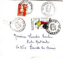 PNU 2685 Bande De Journal Avranches+2613 Donville Poste Restante (demitaxe) - Journaux