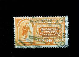 U. S.  # E 3  *MESSENGER RUNNING * SPECIAL DELIVERY STAMP FROM 1893 - Special Delivery, Registration & Certified