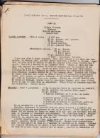 Ecole Ménagère De La Société Industrielle D´Amiens - Menus, Recettes 1934-1935. - Gastronomie