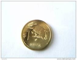1 Pesos 2011 - Mulita - URUGUAY - - Uruguay