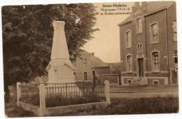 23877  -  Olne  Saint-Hadelin Monument   1914-18  Et  écoles Communales - Olne