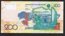 KAZAKHSTAN   P28   200 TENGE   2006     UNC. - Kasachstan