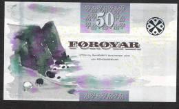 FAEROE ISLANDS  P24b ?   50   KRONUR   2011    UNC. - Féroé (Iles)