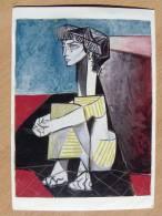 P Picasso /  Jacqueline Aux ...  /musee Picasso Paris - Peintures & Tableaux