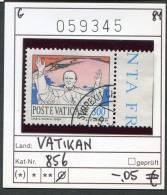 Vatikan - Vaticane - Michel 856 -  Oo Oblit. Used Gebruikt - Vaticaanstad