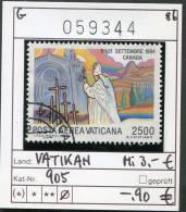 Vatikan - Vaticane - Michel 905 -  Oo Oblit. Used Gebruikt - Vaticano (Ciudad Del)