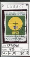 Vatikan - Vaticane - Michel 986 -  Oo Oblit. Used Gebruikt - Vaticano