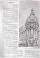 THEATRE   PARIS LE PARAMOUNT  1927  ANGLE BOULEVARD DES CAPUCINES CHAUSSEE D ANTIN Gaumont-Opéra - Arrondissement: 09