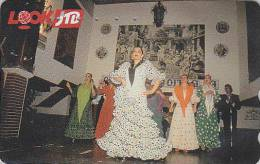 Télécarte Japon / 290-400095 - JTB - DANSE Espagne Flamenco - Dance Japan Phonecard  / SPAIN España - Publicidad