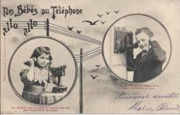 6646 - Nos Bébés Au Téléphone - Bergeret