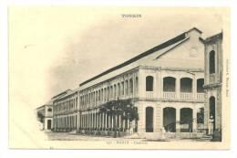 Indochine Nord-Vietnam  Tonkin Hanoi Casernes. (+300 CPA Sur L'Indochine En Cours) - Viêt-Nam