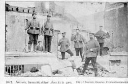 LEUVEN - LOUVAIN - WW1 - PLACE DE LA GARE  SOLDAT ALLEMAND - Leuven