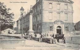 54 - Lunéville - Le Château, Pavillon De L'aile Gauche (boeufs) - Luneville