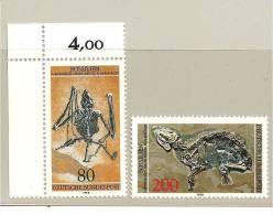 DSP2256/ BRDMi.nr.974-75**/ (1978) Fossilien - Archäologie