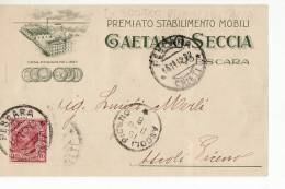 9618 PESCARA SECCIA MOBILI X ASCOLI PICENO - Zonder Classificatie