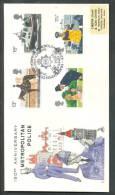 1979 Metropolitain Police Politie   FDC - 1971-1980 Em. Décimales