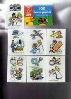 Boîte De 100 Bons Points Pour Les Enfants Sages, Editions LITO 1999, Les Métiers - Old Paper