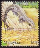 MALAYSIA 2006 Monitor Lizard Varanus Salvator MNH [RM483] - Unclassified