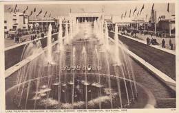 EMPIRE EXHIBITION, SCOTLAND 1938 - LAKE FOUNTAINS, DOMINIONS @ COLONIAL AVENUES - Exhibitions
