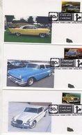 Lot De 6  Enveloppe Premier Jour D'Emission - USA FDC's  - Studebaker-Pontiac-Lincoln-Chrysler-Cadillac - Coches