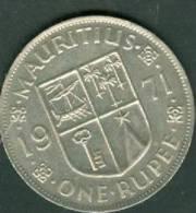 MAURITIUS 1 RUPEE 1971  - Laura8202 - Mauritius
