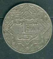 EMPIRE CHERIFIEN Morocco 1 Franc 1921 To 1924 Non Daté  - Laura8209 - Marruecos