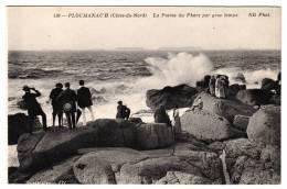 22 - Ploumanac´h - La Pointe Du Phare Par Gros Temps -  Editeur: ND Phot N° 136 - Ploumanac'h