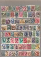 AUSTRIA Old 76 Different Stamps Used Obliteres Gestempelt (o) Lot 16687 - Autriche