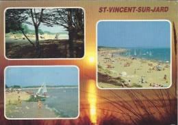 CPSM 85 ST Vincent Sur Jard - Frankreich