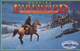 Bloomfield Firewood Bloomfield Farms Santa Clara California Vintage Advertising Label - Advertising