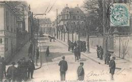 CAEN(14) AVENUE DE COURCELLES ET LA GARE DE SAINT MARTIN - Caen