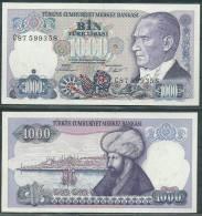 TURKEY 1970(1984) 1000 LIRA P196 UNC -G - Turquie