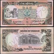 Sudan P 46 - 10 Pounds 1991 - UNC - Soudan